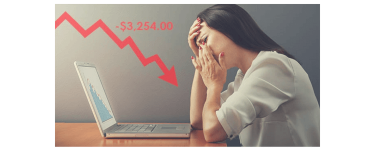 perdere trading forex